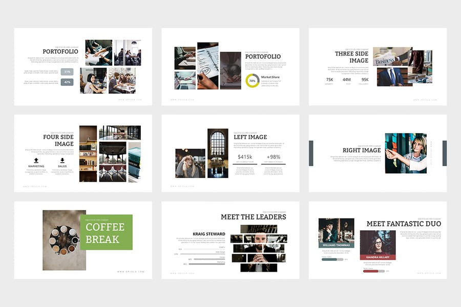 Oriola : Business Powerpoint Template - 2