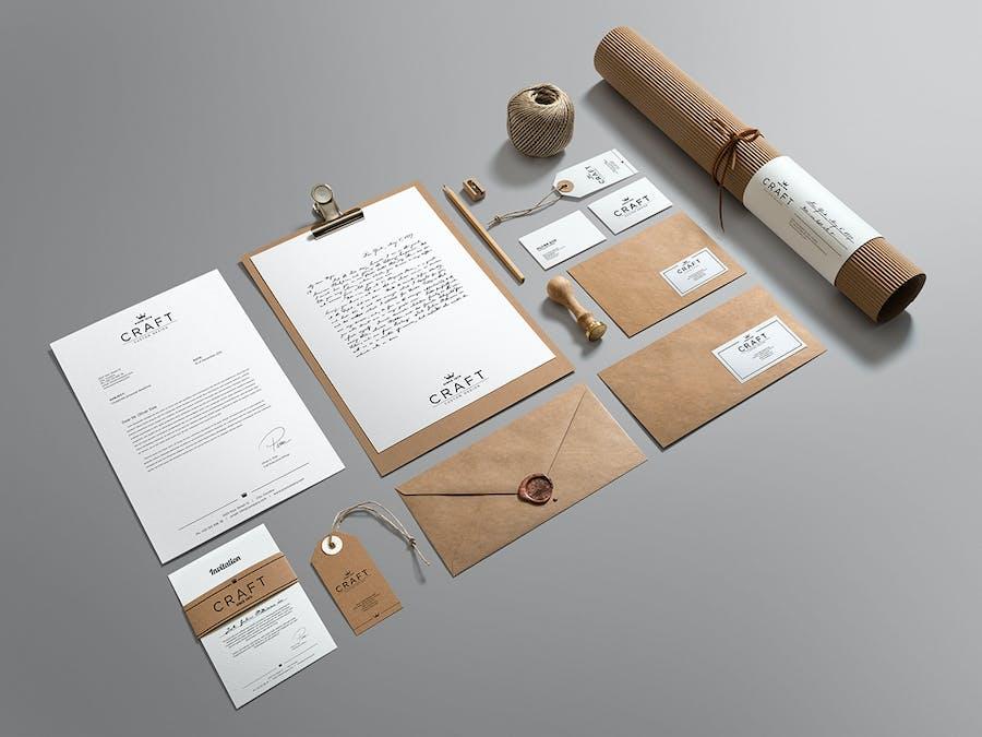 Craft Branding Mockup - 0