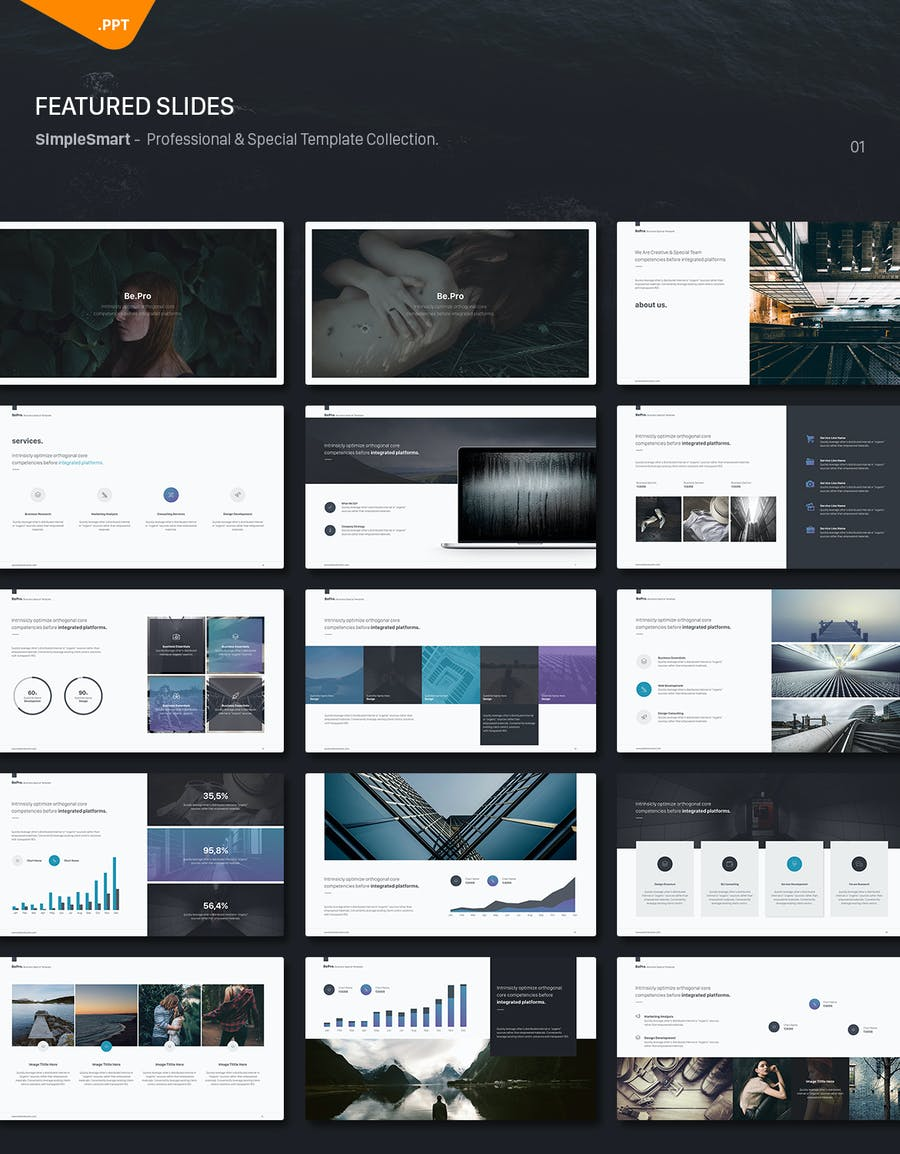 BePro Powerpoint Business Template - 1