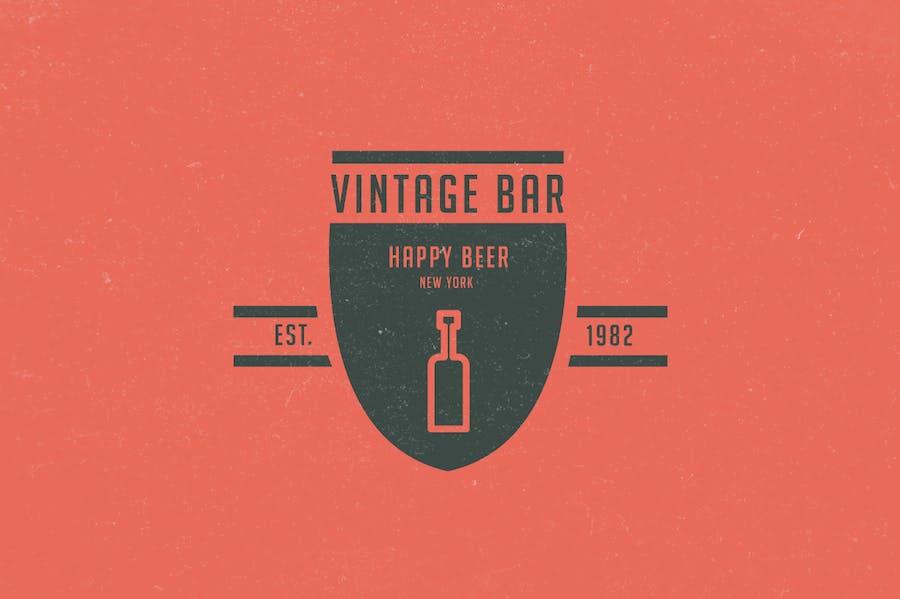 15 Vintage Logos & Badges - 0