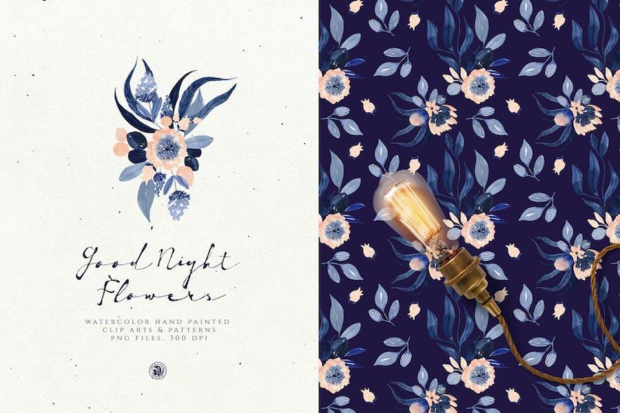 Good Night Flowers - 0