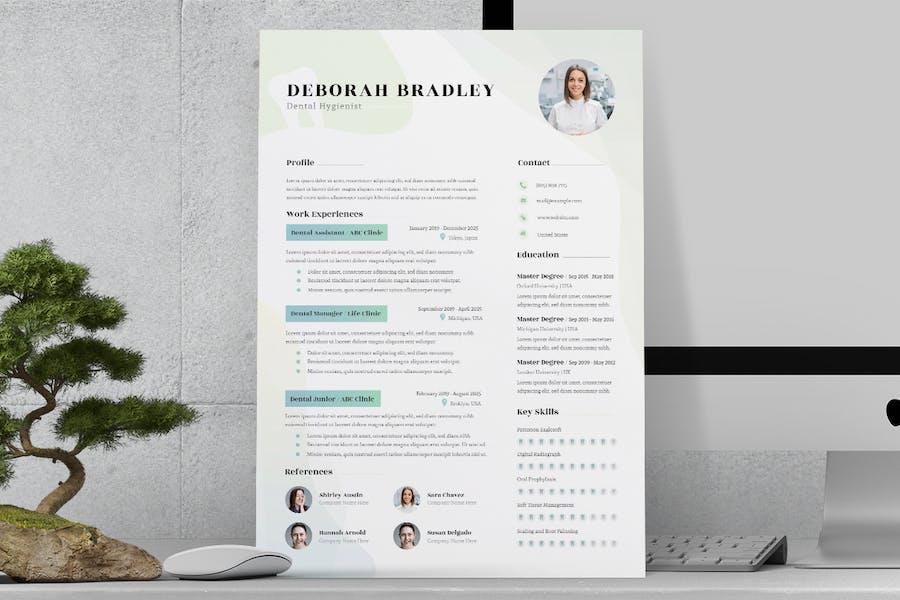 Dental Resume / CV  - 2