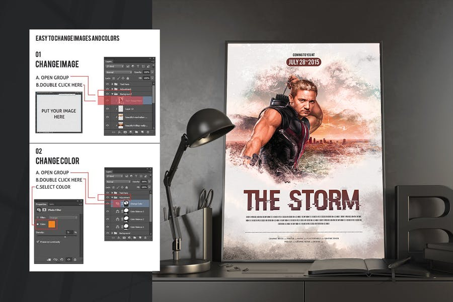 The Storm Movie Poster/Flyer - 0