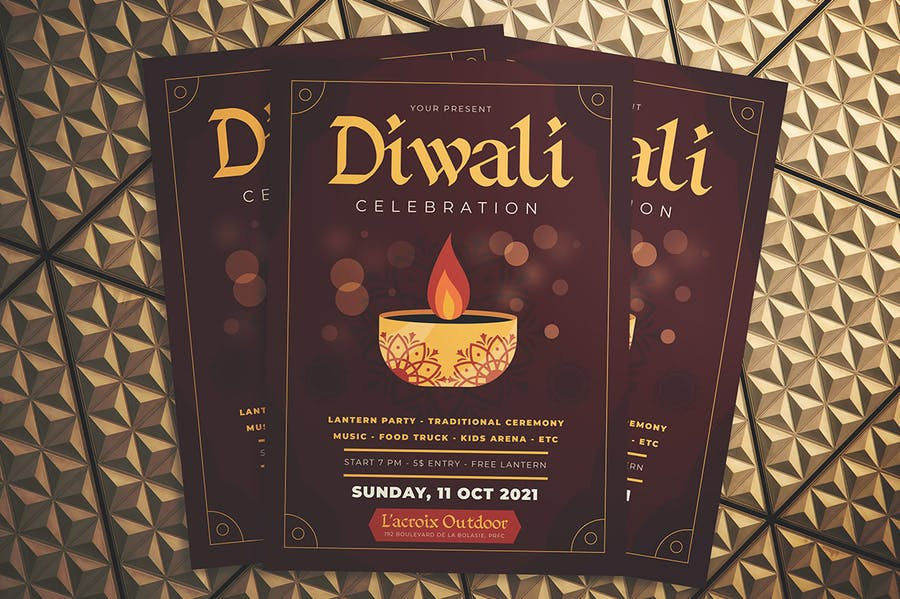 Diwali Celebration Flyer - 1