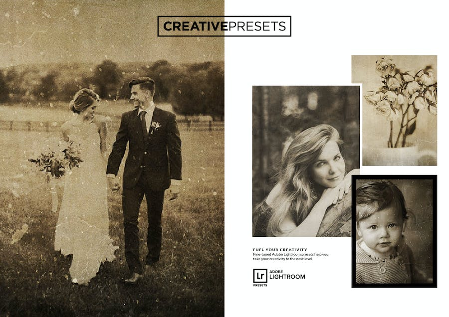 Wet Plate Lightroom Presets + Overlays - 0