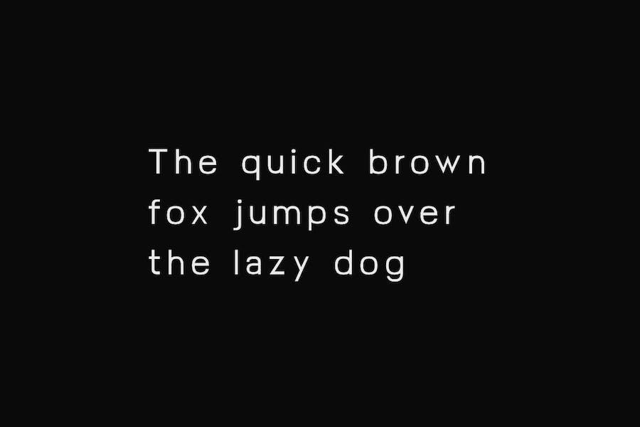 FOSLIN - Minimal Sans-Serif / Display Typeface - 3