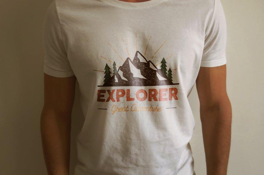 Outdoor Explorer Tee Design - 0