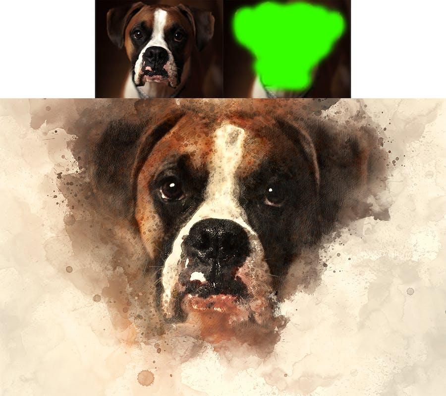 Artist Photoshop Action - 2