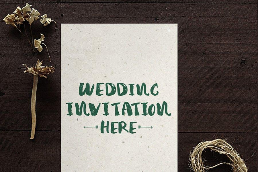 Wedding Invitation Mockups - 1