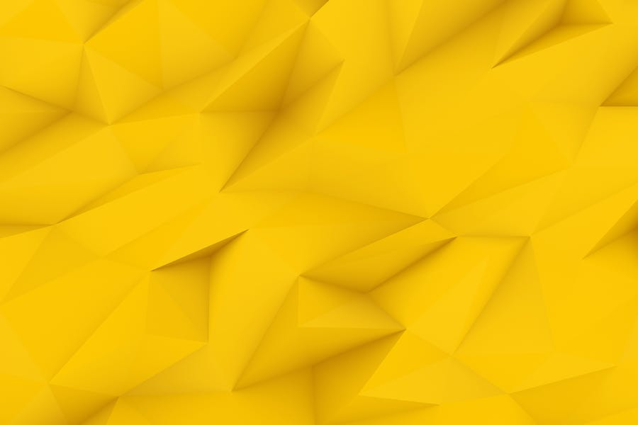 Yellow Polygon Backgrounds - 1