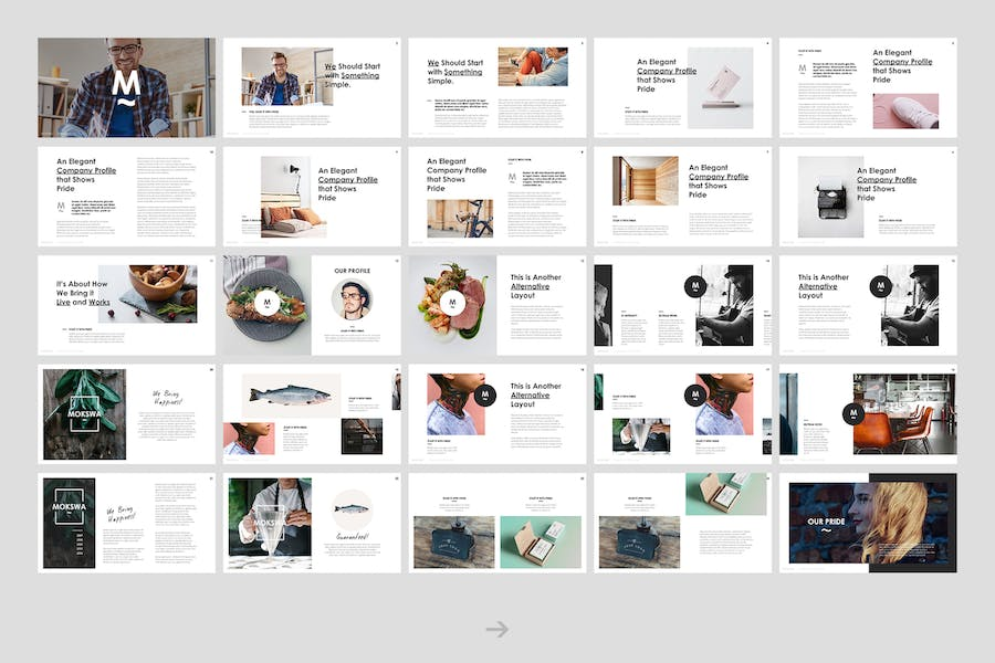 Mokswa - Agency Keynote Template - 0