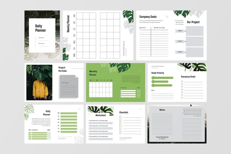 Daily Planner Workbook - 3