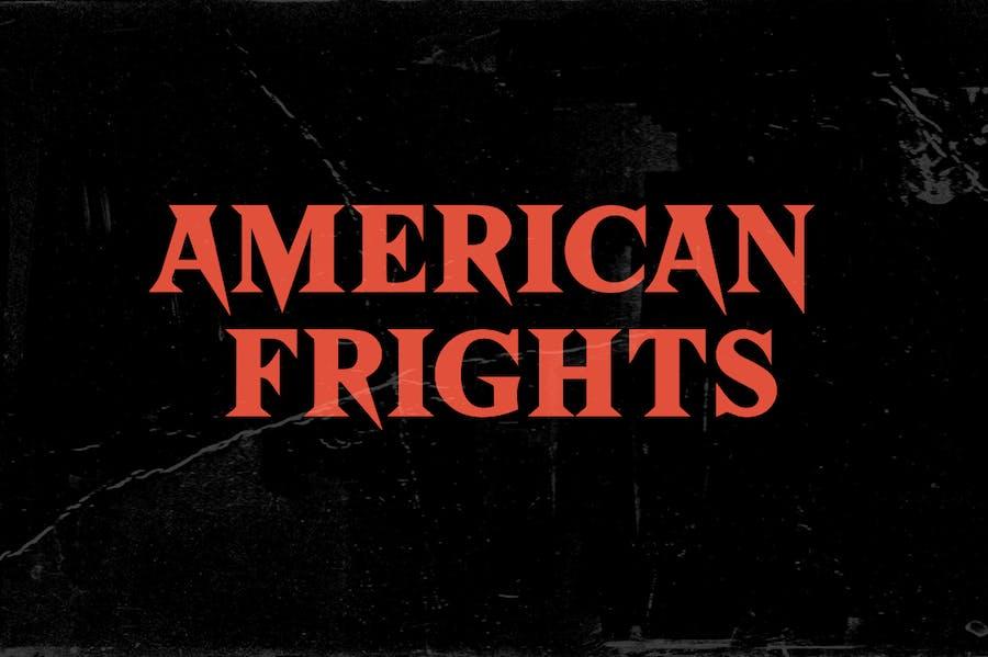 American Frights - Horror Serif Font - 0