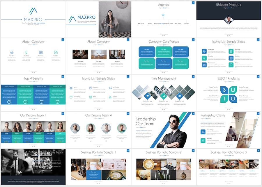 MAXPRO - POWERPOINT TEMPLATE - 1