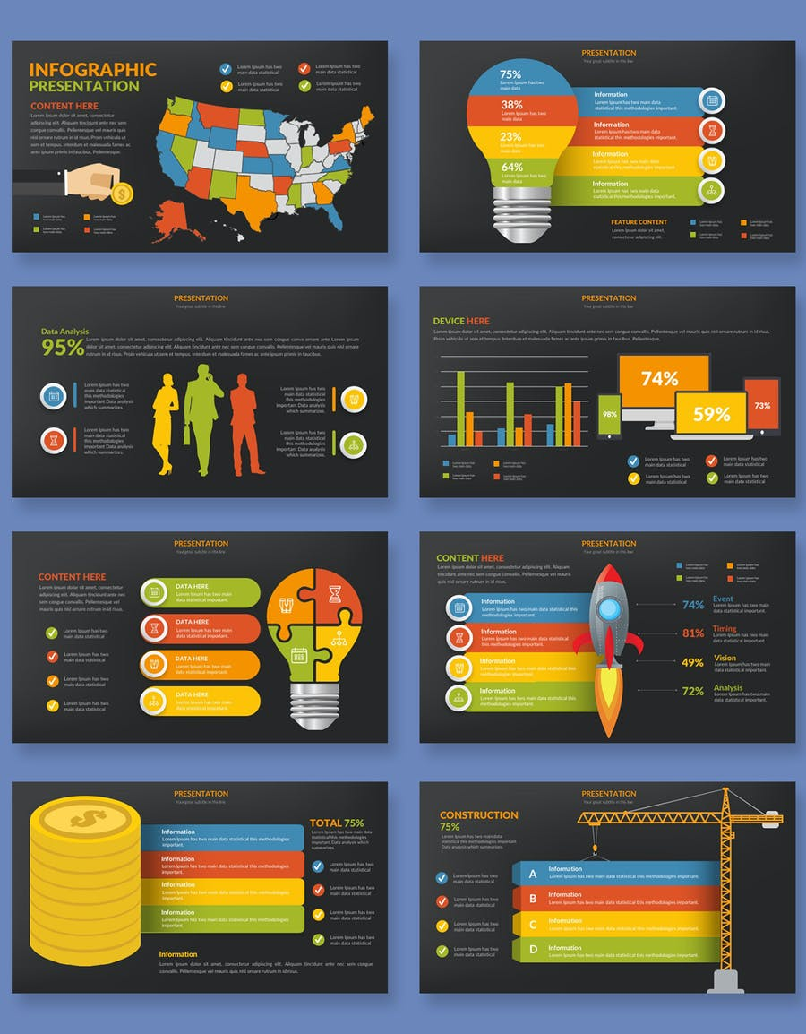 Infographics Slides Powerpoint Presentation - 3