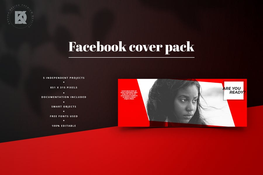 Facebook Cover Pack - 1