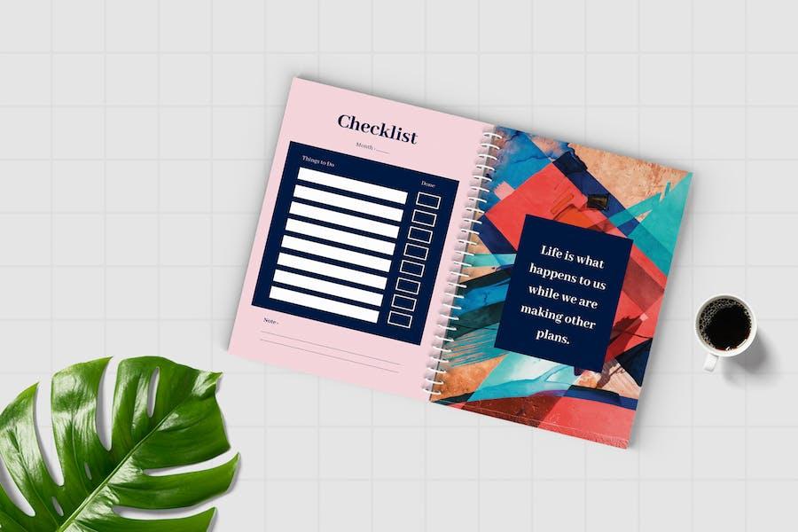 Worksheet Daily Planner Book - Three - 0