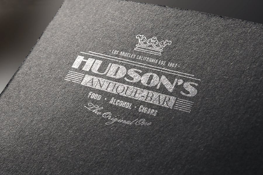 Logo Mock-Up / Exclusive Paper Edition 1 - 2