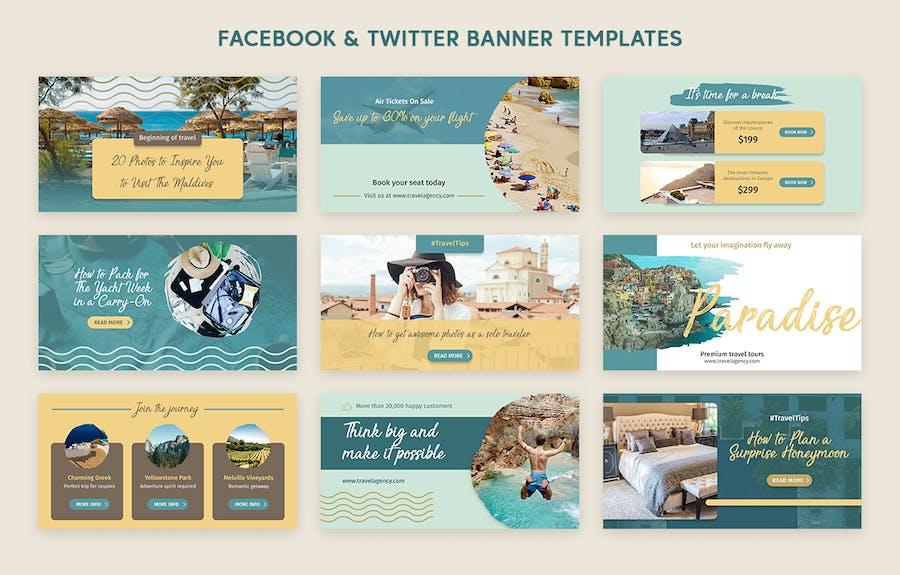 Social Media Pack - 1