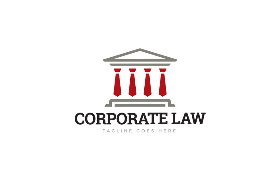 Corporate Law Logo Template - 0