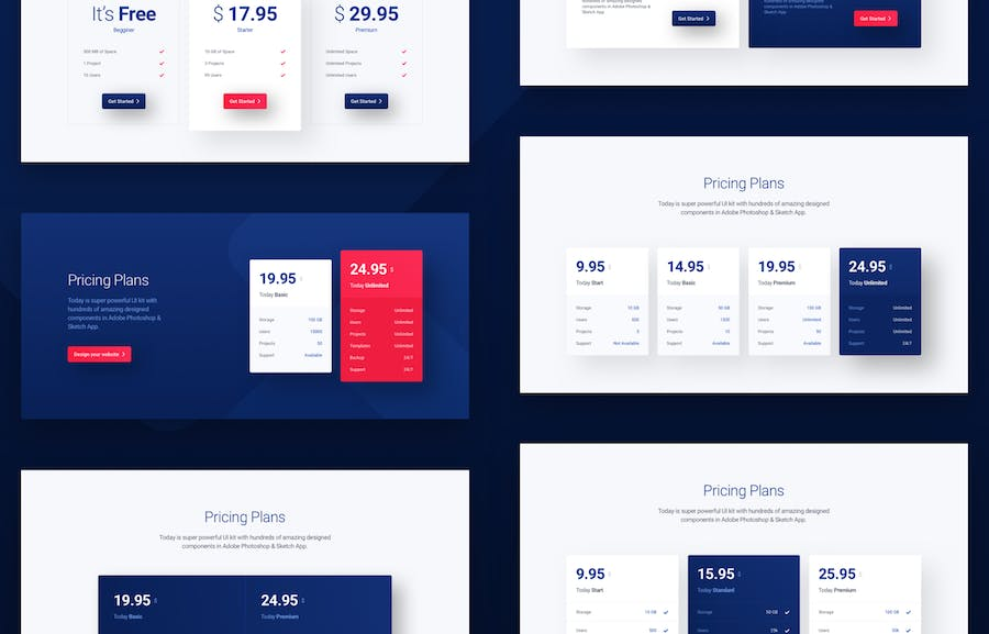 Today Web UI Kit - 2