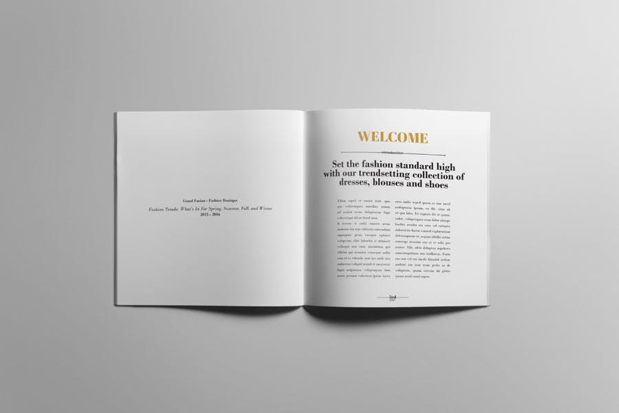 Lookbook / Product Catalog - 1