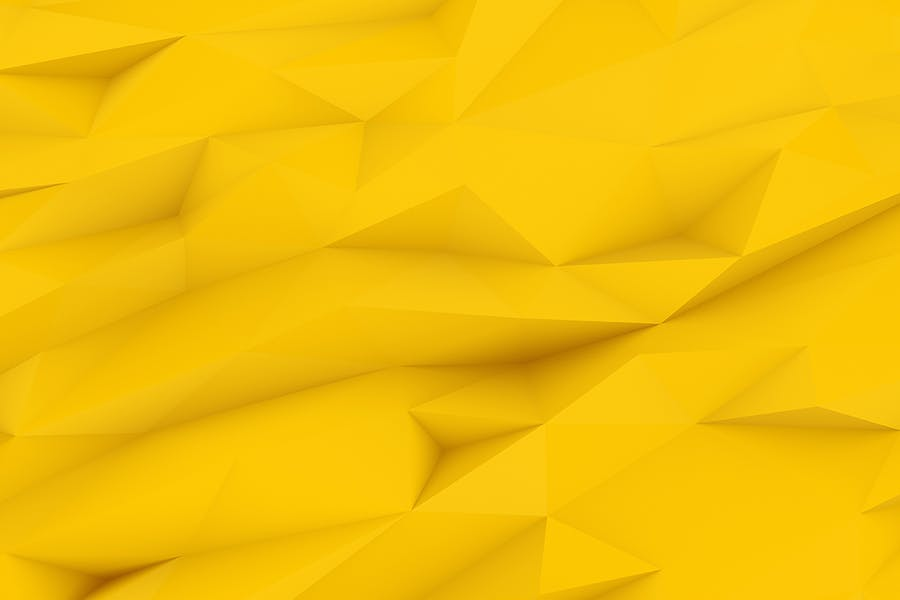 Yellow Polygon Backgrounds - 3