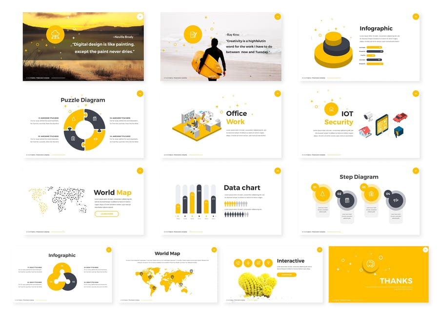 Creative Powerpoint Template - 1