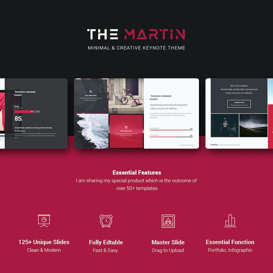 Martin Keynote Business Template - 0