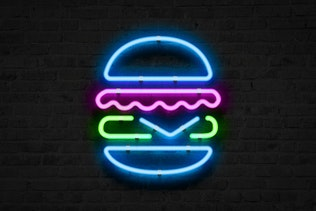 Neon Sign Photoshop Effect - 2