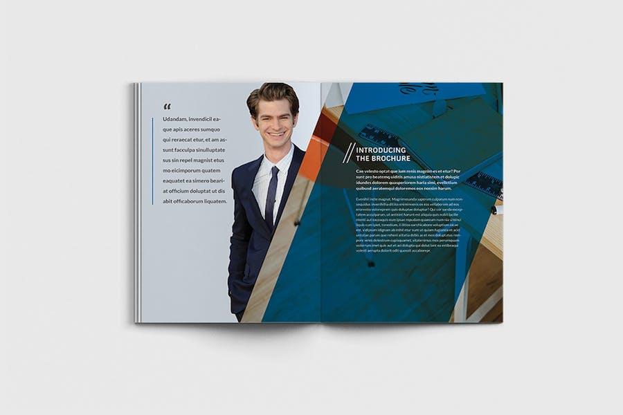 AgencyPro - A4 Agency Brochure Template - 0