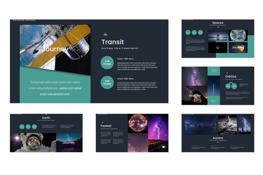 Space Journey - Powerpoint Template - 2