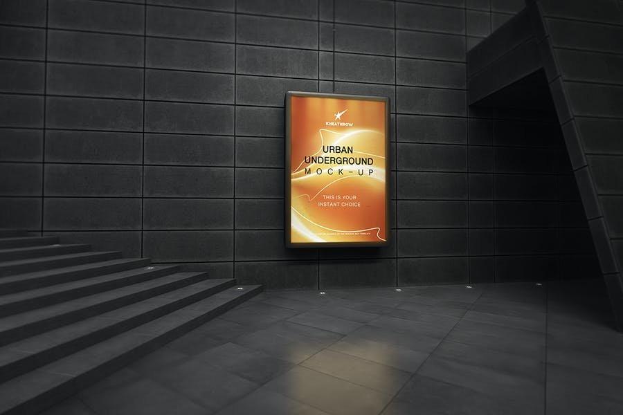 Urban Underground Lightbox / Billboard Mock-Ups - 0