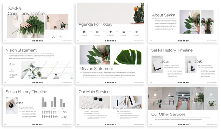 Sekka - Business Keynote Template - 0