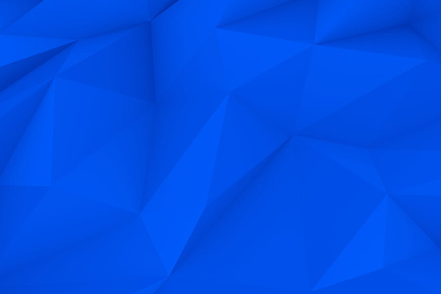 Blue Polygon Backgrounds - 2