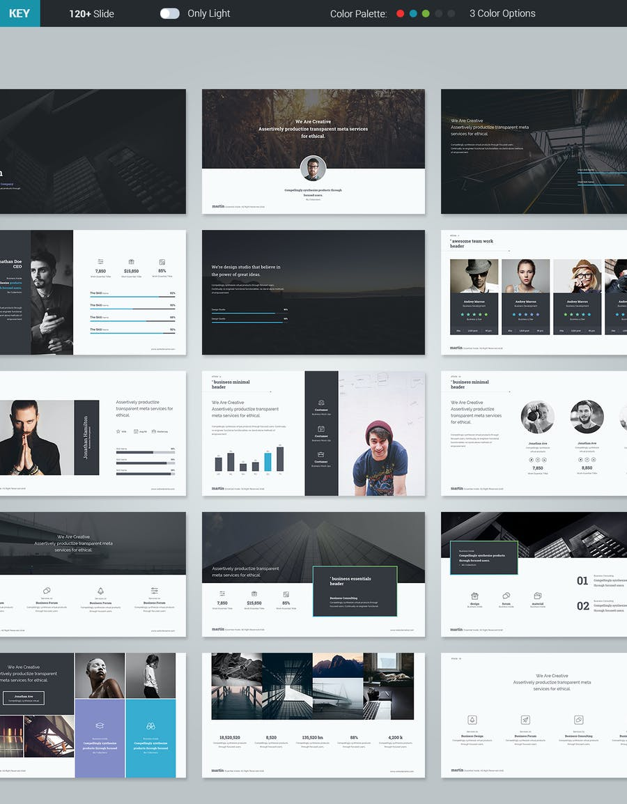 Martin Keynote Business Template - 1