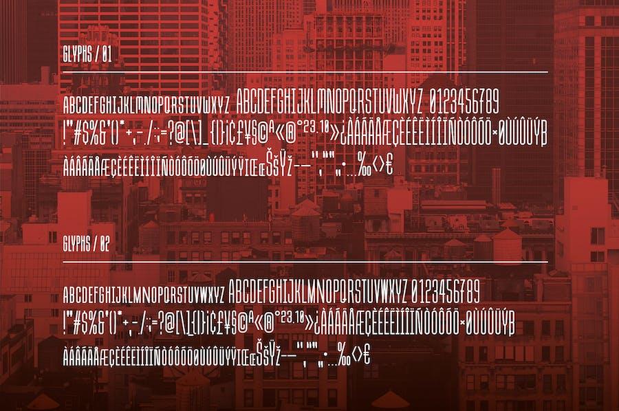 Due Credit: The Film Designer's Font - 0