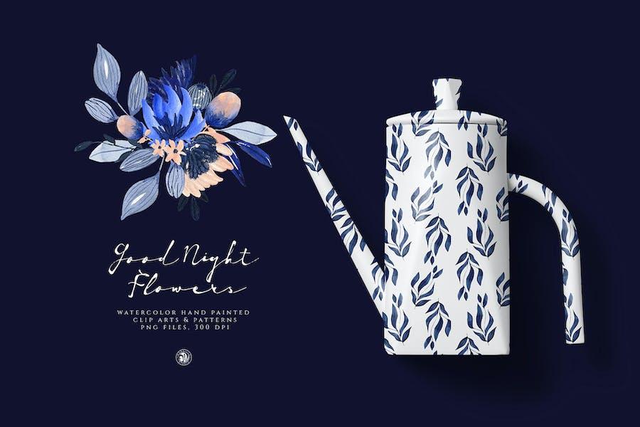 Good Night Flowers - 2