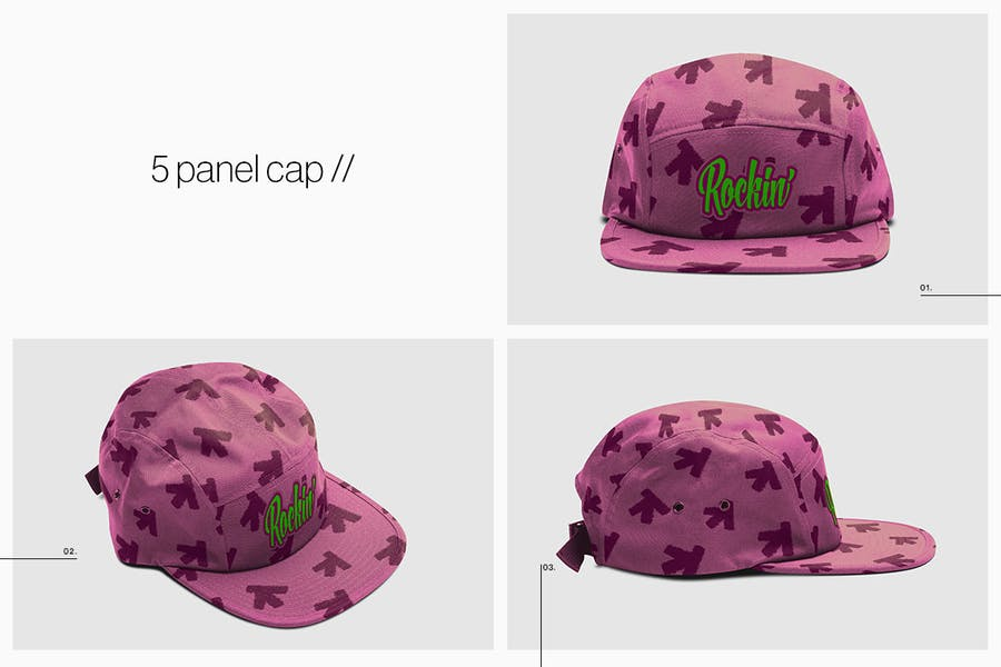 Cap Collection Mockup - 2