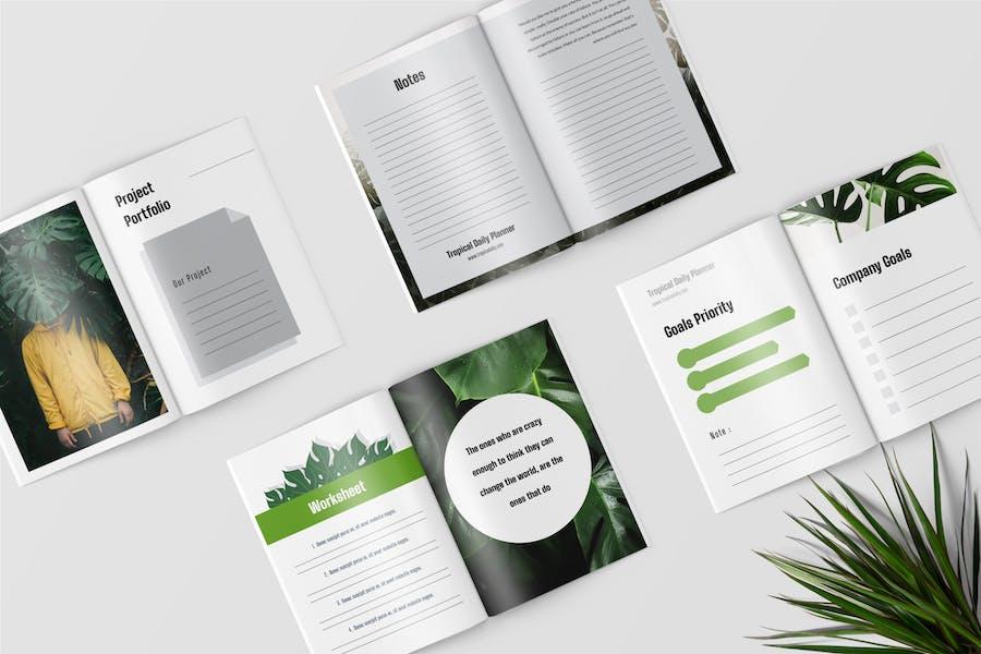 Daily Planner Workbook - 0