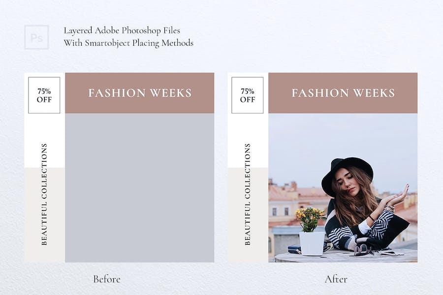 QUEEN Fashion Instagram & Facebook Post - 2