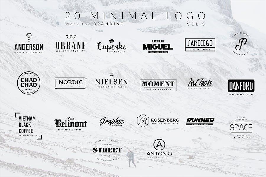 100 Minimal logos - 2
