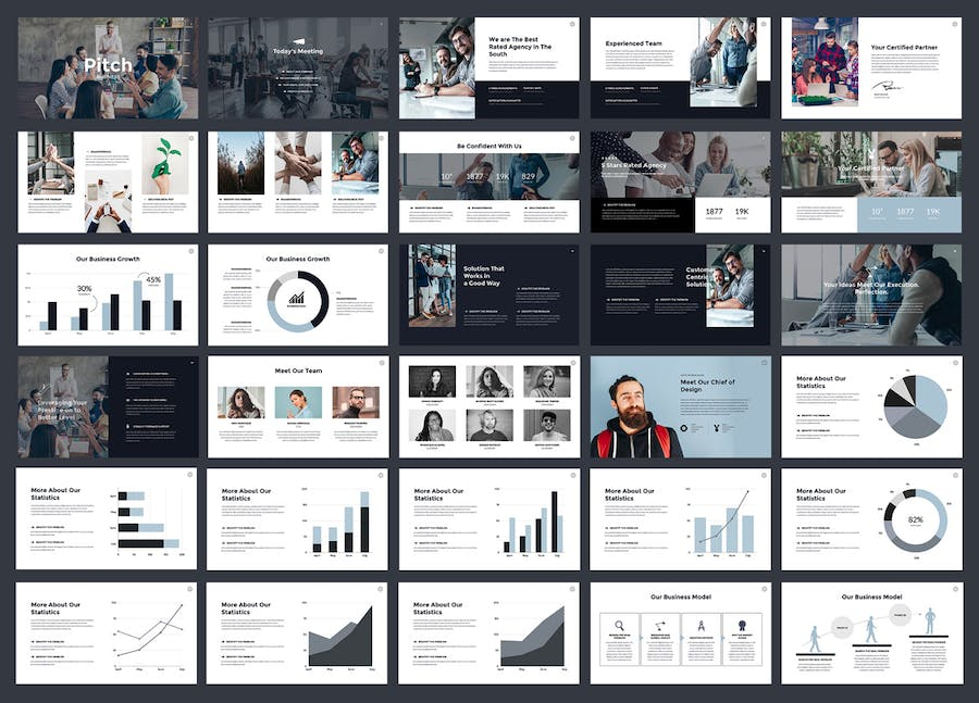 Business Pitch - Keynote Template - 0