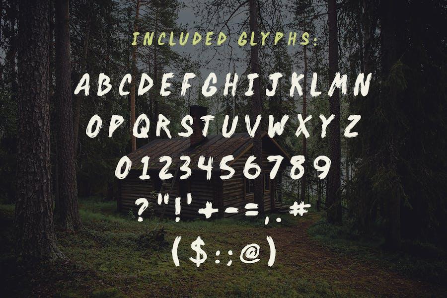 Backwoods Cabin Font - 0