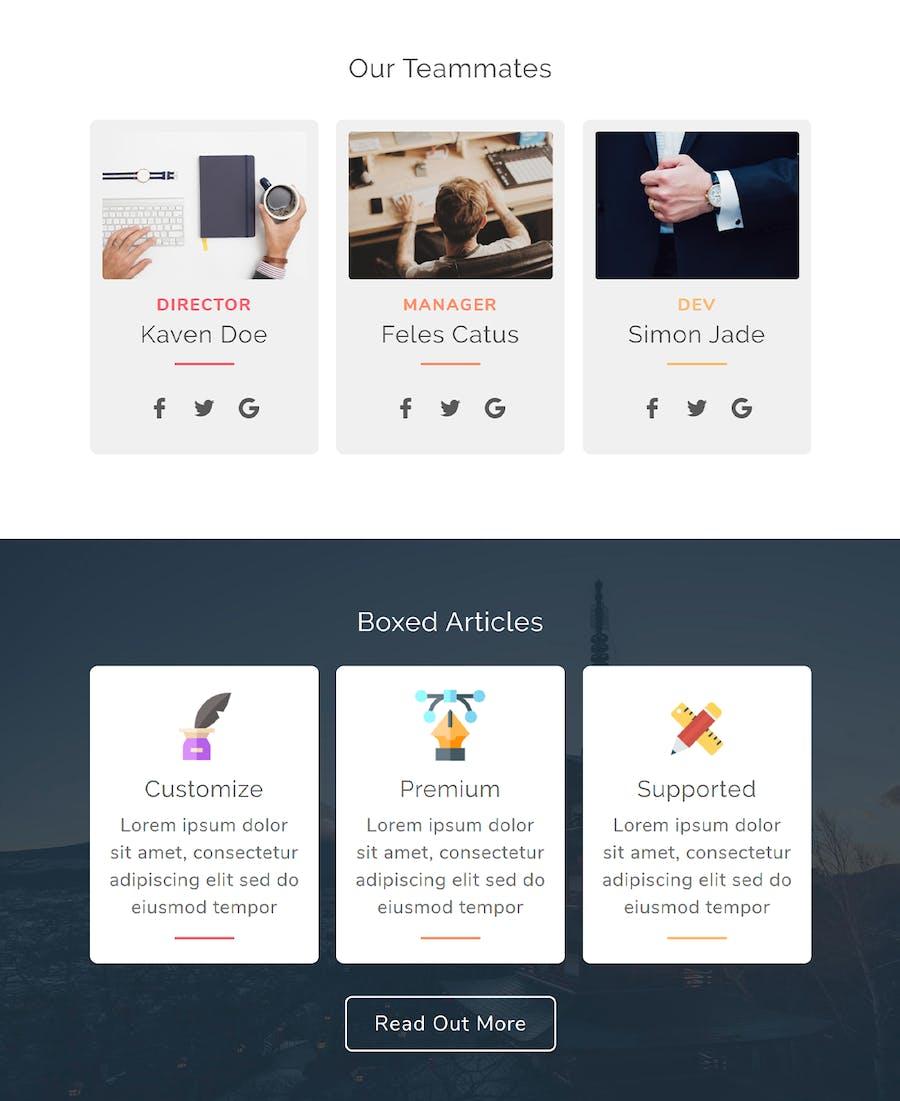 Zamoza Responsive Multipurpose Email Template - 3