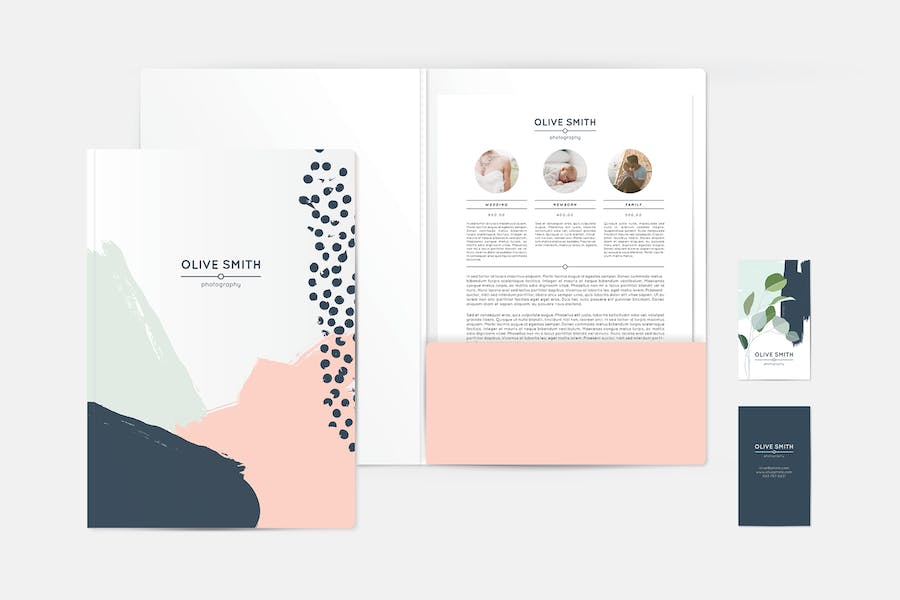 Olive Identity Stationery Template - 1