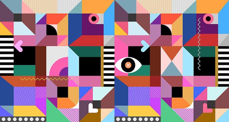 Abstract Geometric Design - 0