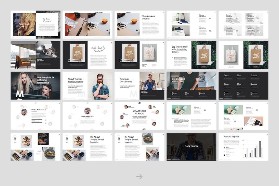 Mokswa - Agency Keynote Template - 1