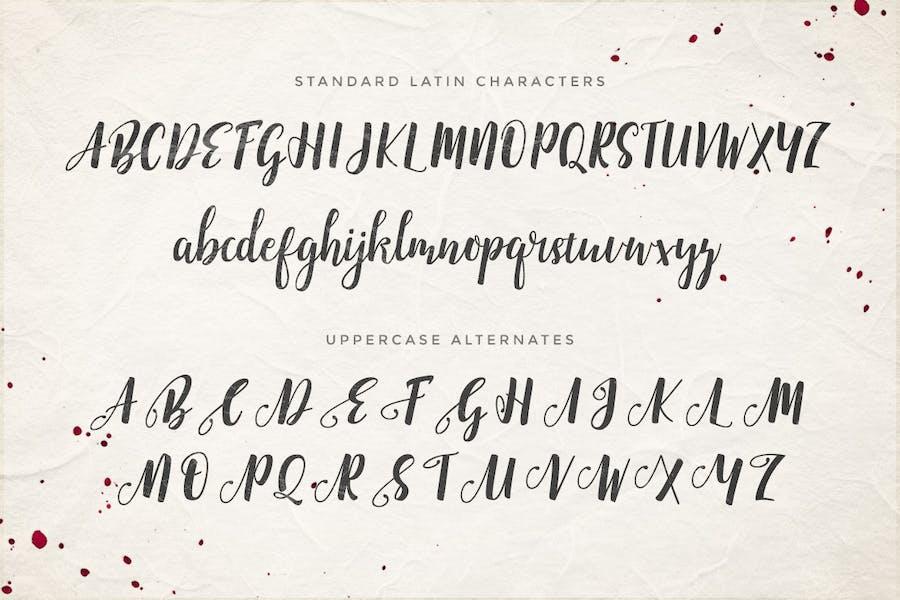 Emellie Script Font - 0