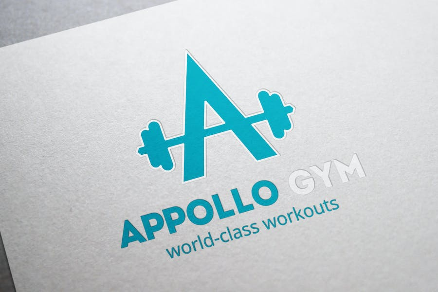 Appollo Gym Logo - 3